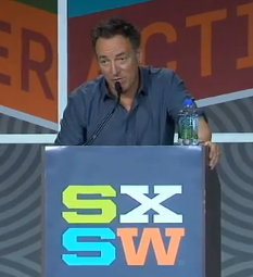 Bruce Springsteen discusses his musical roots and influences.